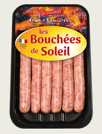 Saucisses de volaille nature